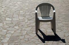 Sola silla Foto de archivo libre de regalías