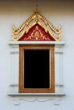 Ventana, sola ventana del templo Imagenes de archivo