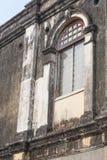 Sola ventana del vintage en Penang Fotos de archivo