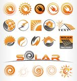 solaire Photos stock