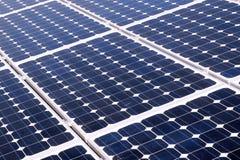 solaire photovoltaïque d'énergie de cellules Photographie stock