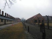 Solamente Auschwitz Imágenes de archivo libres de regalías