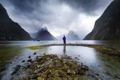 Solamente en la montaña Fotografía de archivo libre de regalías