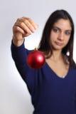Solamente en la Navidad Imágenes de archivo libres de regalías