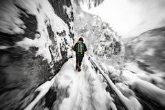 Solamente en nieve fotos de archivo libres de regalías