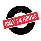 Solamente 24 horas de sello de goma Fotos de archivo libres de regalías