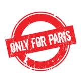 Solamente para el sello de goma de París Fotografía de archivo libre de regalías
