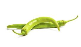 Solamente pimienta de chile verde Imagen de archivo