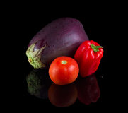 Solanaceae veggetables. Stock Photography