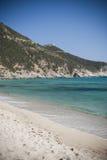 撒丁岛。Solanas海滩 库存图片