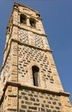 Solanas, campanile Fotografia Stock Libera da Diritti