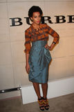 Solange Knowles. Solange Knowles  at the Burberry Body Launch, Burberry, Beverly Hills, CA 10-26-11 Stock Image
