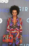 Solange Knowles. Singer/songwriter, actress and model Solange Knowles arrives on the red carpet for the premiere of the new season for HBO's hip hit, the comedy Royalty Free Stock Photography