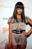 Solange Knowles on the red carpet. Royalty Free Stock Photo