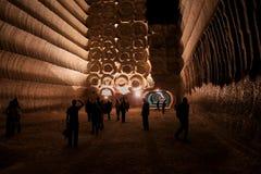 Solankowa kopalnia Zdjęcie Royalty Free