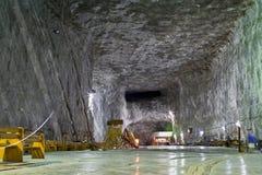 Solankowa kopalnia Praid Zdjęcia Stock