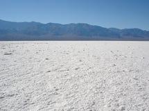 Solankowa mieszkania Nevada pustynia Zdjęcia Royalty Free