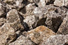 Solankowa skała od Wielickiego Polska Obrazy Stock