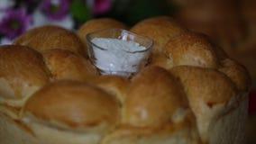 Solankowy potrząsacz na chlebie zbiory