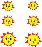 Solar royaltyfri illustrationer