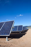 Solar array Royalty Free Stock Photos