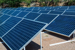 Solar Array Royalty Free Stock Photography