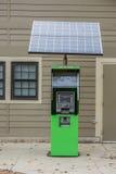 Solar-ATM-Geldmaschine Lizenzfreie Stockbilder