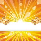 Solar background. Stock Image