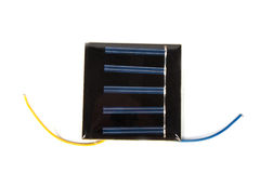 Solar batteries Royalty Free Stock Images