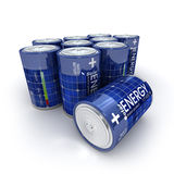 Solar batteries Royalty Free Stock Photography