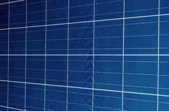 Solar batteries background Stock Photography