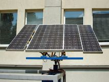 Solar battery Stock Images