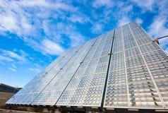 Solar battery Stock Photo