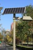 Solar battery Stock Photography