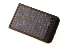 Solar battery charger Stock Photos