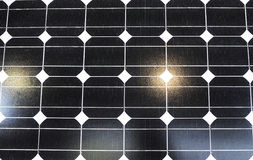 Solar battery with clean energy Royalty Free Stock Photography