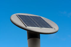 Solar battery LED street lamp Royalty Free Stock Image