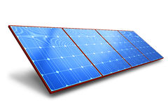 Solar battery panel Royalty Free Stock Image