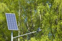 Solar battery Stock Image