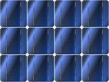 Solar battery vector Stock Photography