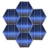Solar battery vector Stock Photo