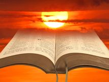 Solar bible Stock Photography