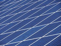 Solar boards at a house Royalty Free Stock Photography
