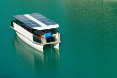 Solar boat Royalty Free Stock Photo