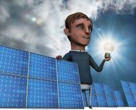 Solar bulb 2 Stock Image