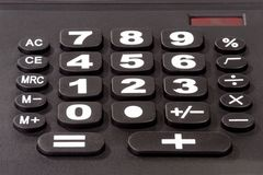 Solar Calculator Royalty Free Stock Image