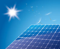 Solar cell Royalty Free Stock Photos