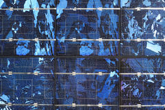 Solar cell background Royalty Free Stock Photo