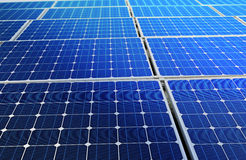 Solar cell battery Royalty Free Stock Photos