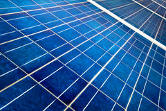 Solar cell detail Royalty Free Stock Photos